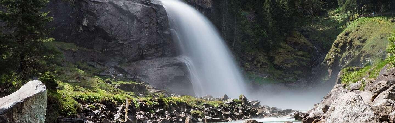 Österreich Reiseziel Krimler Wasserfälle